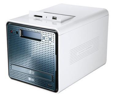 LG entegre DVD yazıcılı ağ deopolama sistemini tanıttı