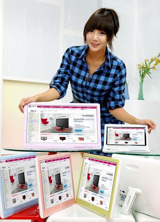 LG mobil kullanıcıları için Flatron W30 serisi LCD monitörlerini tanıttı