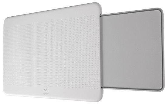 Logitech'den dizüstü bilgisayarlar için taşınabilir masa; Lapdesk N315