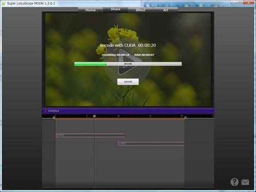 CUDA destekli LoiLoScope MARS ile HD videolarda daha hızlı düzenleme yapılabiliyor