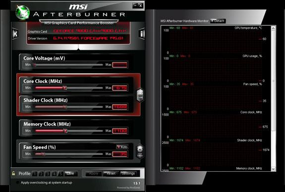 MSI Afterburner 1.5.1 kullanıma sunuldu