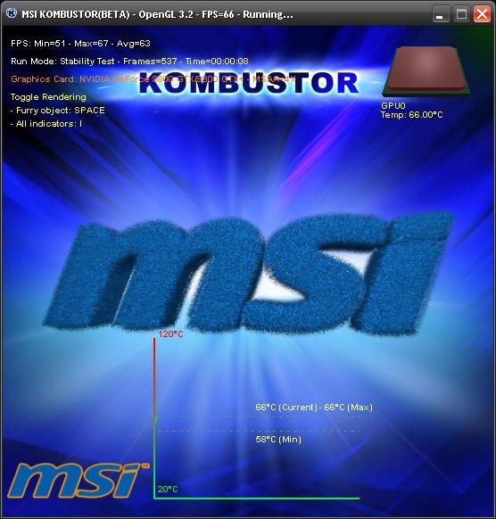 MSI'dan ekran kartları için yeni test uygulaması: Kombustor