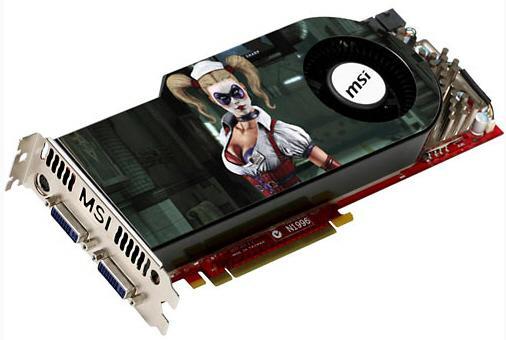 MSI Harley Quinn temalı GeForce GTX 260 modelini tanıttı