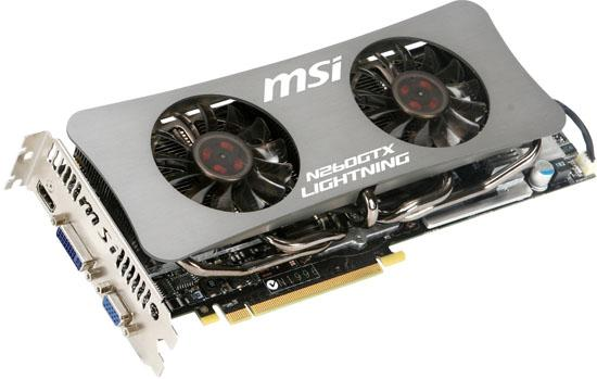 MSI'ın GeForce GTX 260 yorumu; Lightining