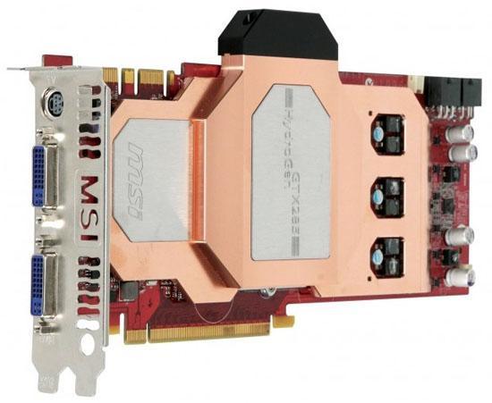 MSI su soğutmalı GeForce GTX 285 HydroGen modelini duyurdu