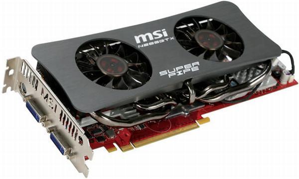 MSI, 2GB GDDR3 bellekli GeForce GTX 285 SuperPipe modelini kullanıma sunuyor