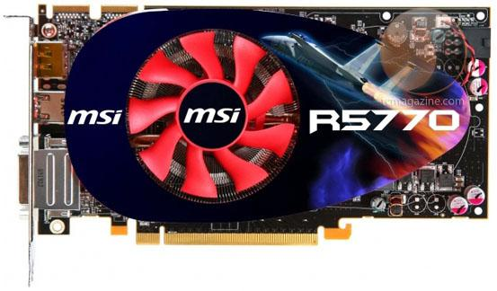 MSI özel tasarımlı Radeon HD 5770 modelini duyurdu