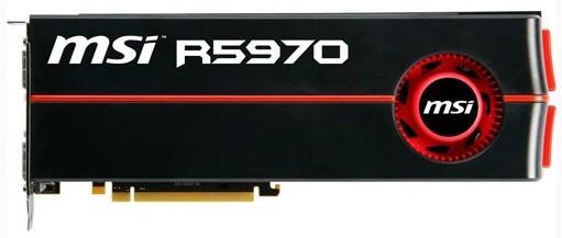 MSI çift grafik işlemcili Radeon HD 5970 modelini tanıttı