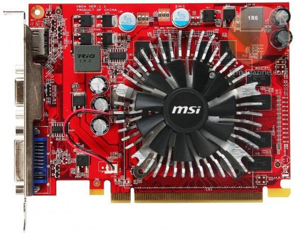 MSI GeForce GT240 tabanlı yeni ekran kartını duyurdu