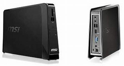 MSI'dan iki yeni mini-bilgisayar: Wind Box DE220 ve DC220