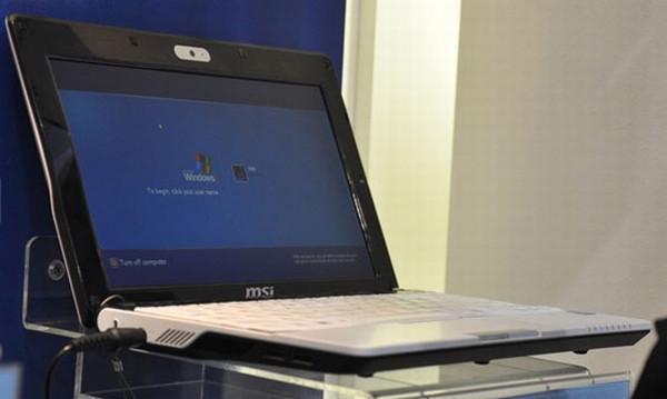 MSI Wind U123 Amerika pazarında satışa sunuldu