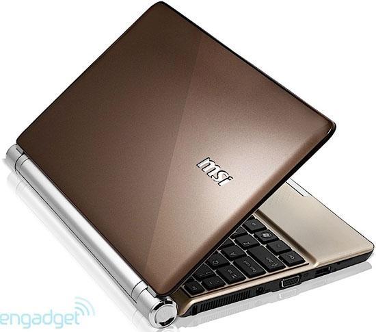 MSI'dan tasarım odaklı yeni netbook: Wind U160