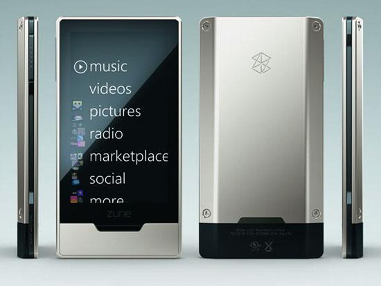 Microsoft Zune HD, 5 Eylül'de lanse edilebilir