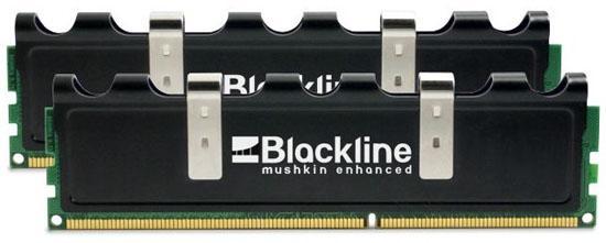 Mushkin Blackline serisi çift ve üç kanal DDR3 kitlerini duyurdu