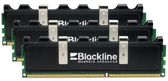 Mushkin Blackline serisi üç yeni DDR3 bellek kiti hazırladı