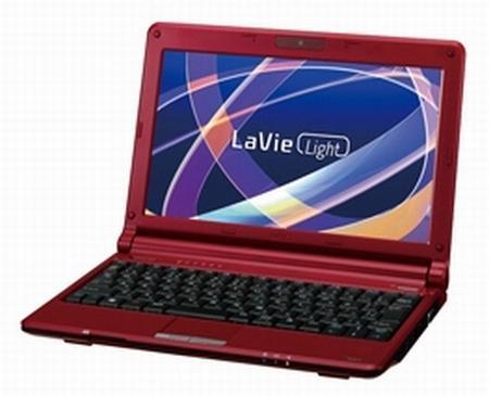 NEC, LaVie Light serisi iki yeni netbook modelini satışa sundu