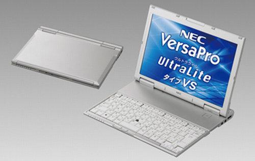 NEC'den tasarımıyla dikkat çeken yeni netbook; VersaPro J UltraLite VS