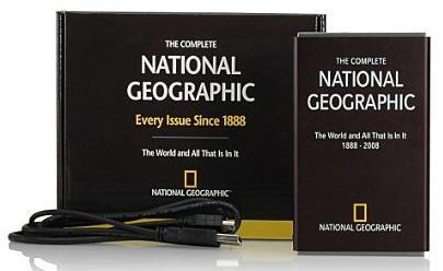 National Geographic 120 yıllık tüm tarihini taşınabilir diskte sunuyor