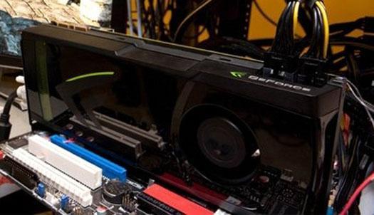 GeForce GTX 480'nin hız aşırtmalı ilk tesmcilsinde güç tüketimi 305 Watt olabilir