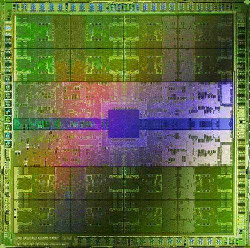 Nvidia Fermi GPU'sunun zar görüntüsünü yayımladı
