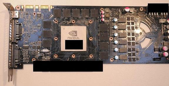 GeForce GTX 480'nin soğutucu ve baskılı devre görselleri ortaya çıktı