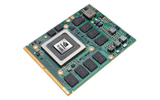 Nvidia'dan Quadro FX serisi 5 yeni mobil grafik kartı