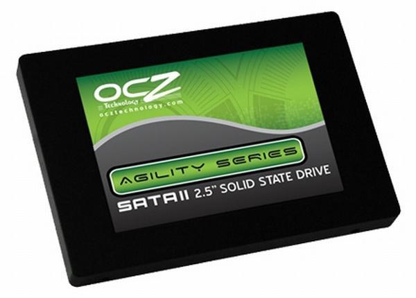 OCZ, Agility serisi yeni SSD'lerini yaptığı resmi açıklamayla duyurdu