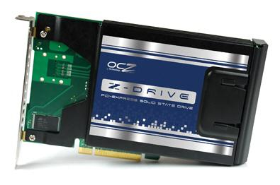 OCZ  Z-Drive serisi PCIe x4 uyumlu yeni SSD modellerini gösterdi