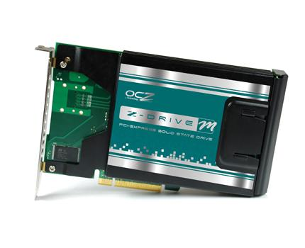 OCZ'den yüksek performans sınıfı SSD sürücüsü: Z-Drive m84