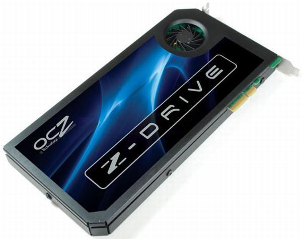 OCZ'nin Z-Drive serisi PCIe tabanlı SSD'leri fiyat listelerinde