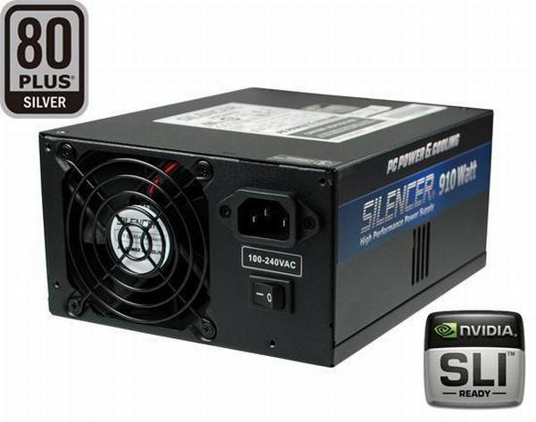 PC Power & Cooling'den yeni güç kaynağı; Silencer 910