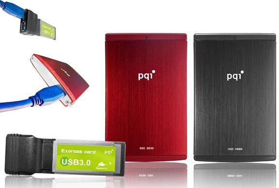 PQI, USB 3.0 destekli yeni depolama sürücülerini tanıttı
