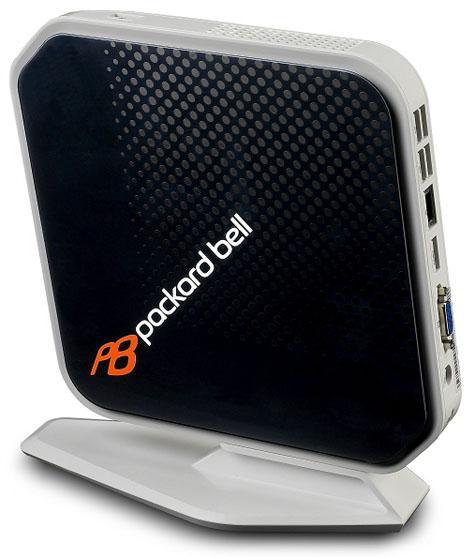 Packard Bell'den Nvidia ION tabanlı yeni nettop: imedia XS