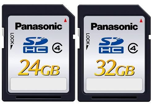 Panasonic yüksek kapasiteli SDHC bellek kartlarını duyurdu