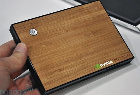 Pegatron, Nvidia Tegra 2 tabanlı medya bilgisayarını gösterdi