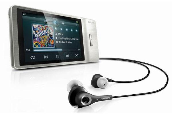 Philips GoGear Mp3 çalar serisinin yeni ürünlerini tanıttı