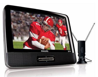Philips'den taşınabilir TV: PVD900/37