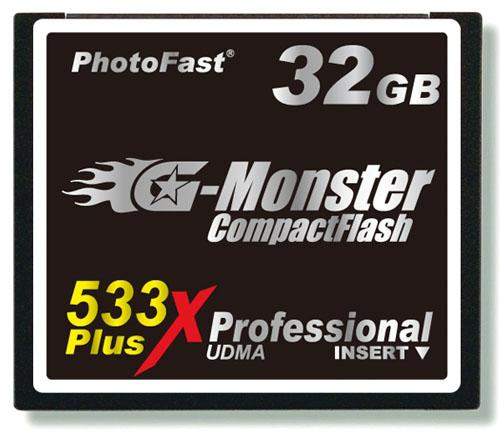 PhotoFast yüksek hızlı CompactFlash bellek kartını duyurdu