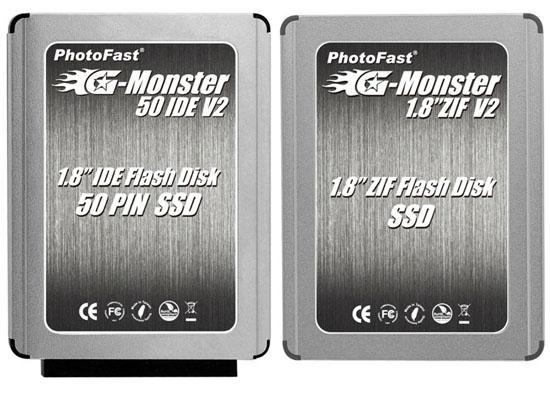 PhotoFast, 1.8-inç boyutundaki yeni SSD'lerini duyurdu