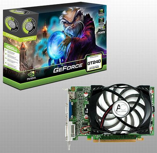 Point of View GeForce GT240 tabanlı yeni ekran kartlarını duyurdu