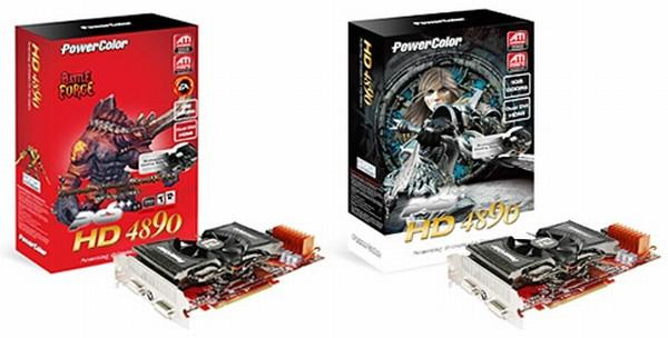 PowerColor, 1GHz'de çalışan iki yeni Radeon HD 4890 hazırladı