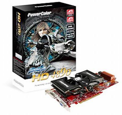 PowerColor 2GB GDDR5 bellekli HD 4890 modelini kullanıma sunuyor