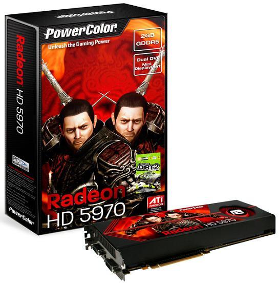 PowerColor çift grafik işlemcili Radeon HD 5970 modelini lanse etti