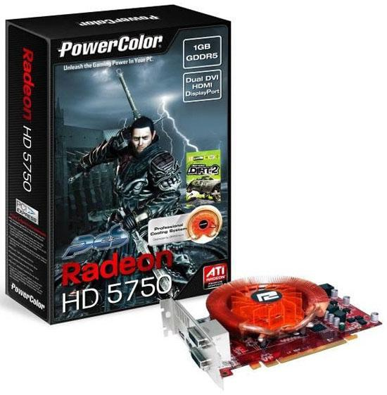 PowerColor özel tasarımlı PCS HD 5750 Premium Edition modelini duyurdu