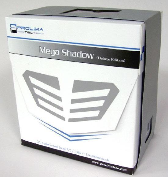 Prolimatech yeni işlemci soğutucusunu kullanıma sunuyor; Mega Shadow
