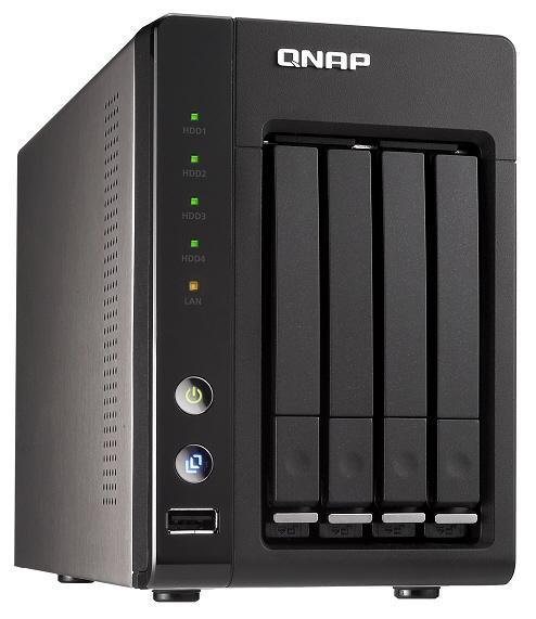 QNAP, Intel Atom işlemcili ve 4 sürücülü ağ depolama sistemini duyurdu