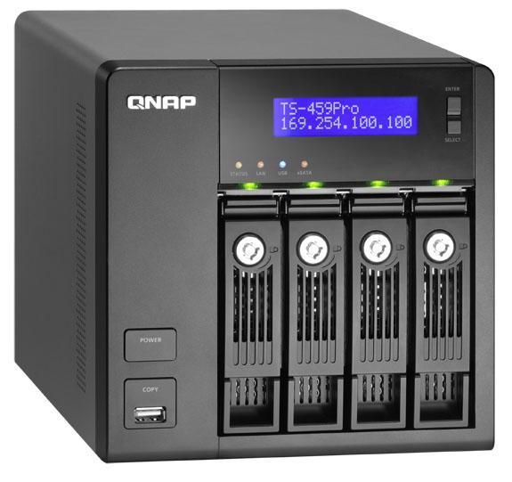 QNAP, Atom 2 işlemcili ağ depolama sistemlerini tanıttı