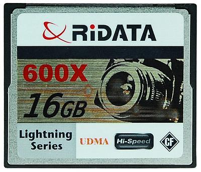 Ritek yüksek performanslı CompactFlash bellek kartlarını duyurdu