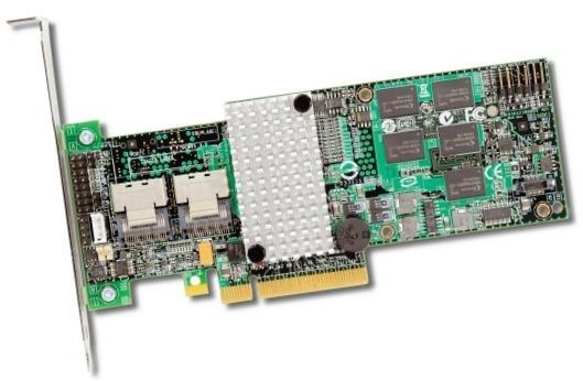 LSI 6Gbps SAS uyumlu yeni RAID kontrol kartlarını duyurdu