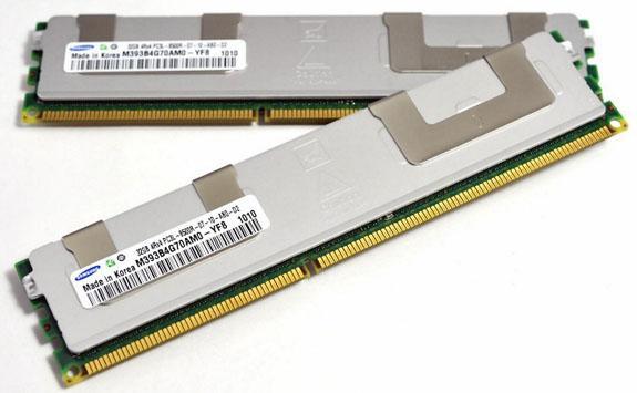 Samsung 32GB kapasiteli DDR3 bellek modülünü örneklendirmeye başladı